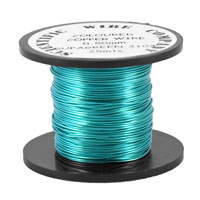 50 x 25m Reel 0.5mm 3104 Supa Green Craft Wire
